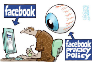 Facebook Privacy Cartoon