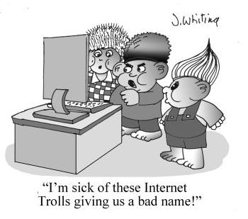 Internet Troll Cartoon