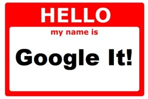 Google Yourself Or Anyone Else