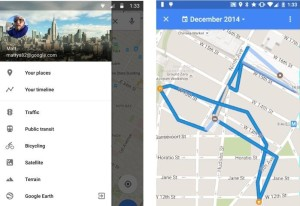 Google Maps Now Shows Your Location History