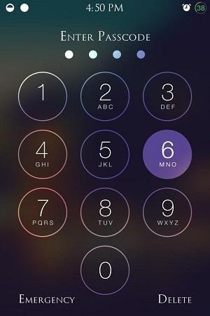 Smartphone Passcode