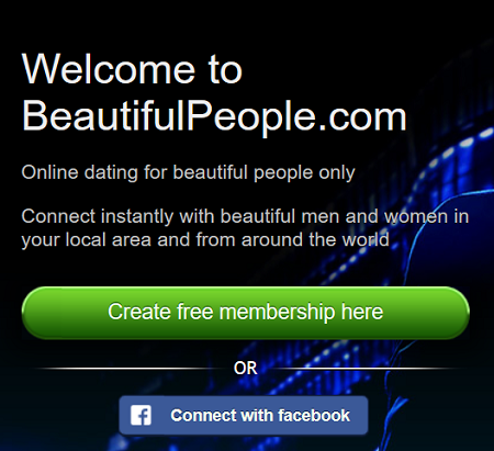Beautiful People Dating Site