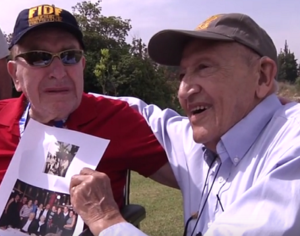 Holocaust Survivor Reunited With Veteran Who Freed Him