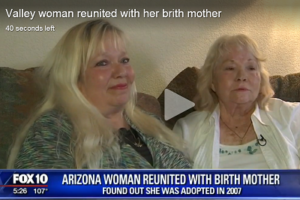 Woman Reunites With Birth Mother After 55 Years