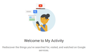 Google's New 'My Activity' Tool