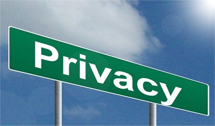 Privacy Street Sign