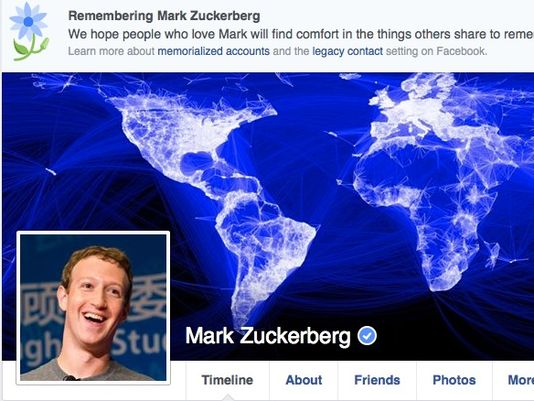 Mark Zuckerberg Memorial