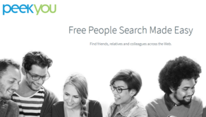 Search PeekYou To Find Someone Online